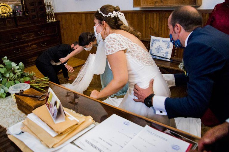 wedding photographer in Oropesa