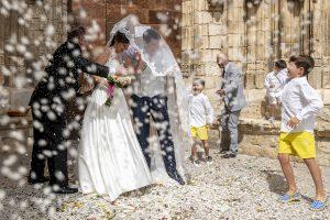 wedding documentary photographer in Morella, Spain