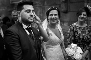 wedding documentary photographer in Pontevedra, Spain